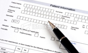 A patient information questionnaire