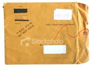 Grunge mail folder