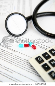 Medical insurance paperwoks
