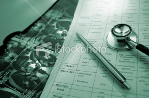 Medical records series