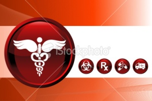 Medical report background